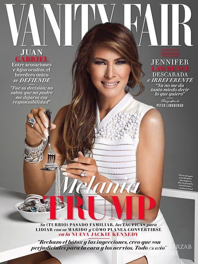 Melania Trump na okładce meksykańskiego wydania Vanity Fair