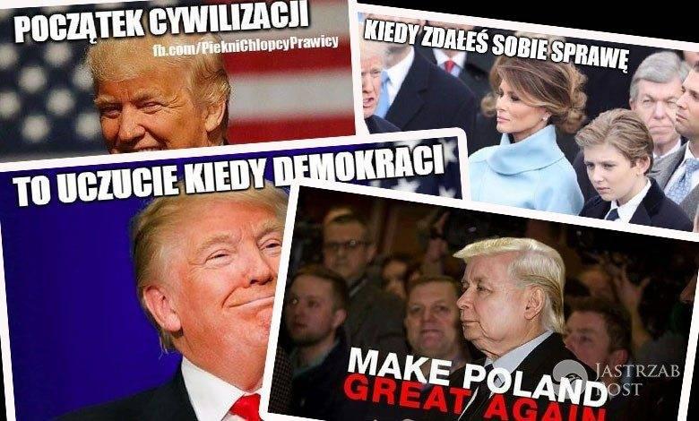 Memy z Donaldem Trumpem