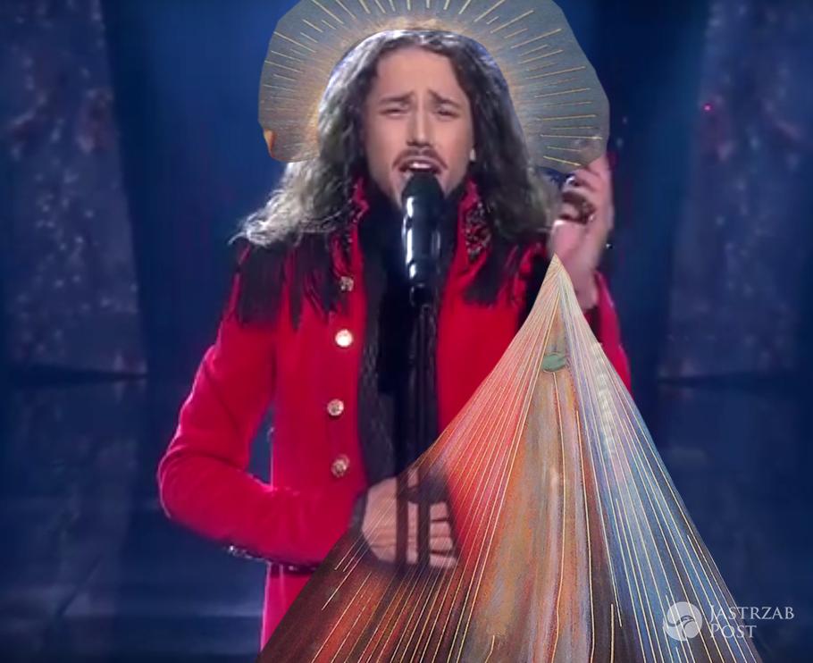 Michał Szpak jako Jezus Chrystus - mem