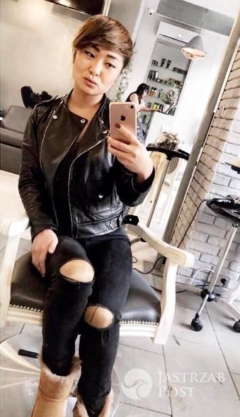 Misheel Jargalsaikhan obcięła włosy