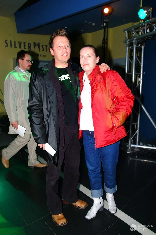 Piotr Szwedes z żoną Anną. Zdjęcia