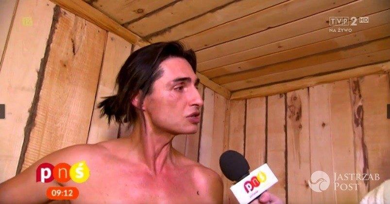 Ivan Komarenko udzielił wywiadu w Pytaniu na śniadanie