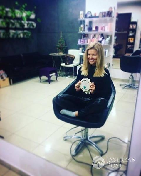 Marta Manowska z Rolnik szuka żony w nowej fryzurze