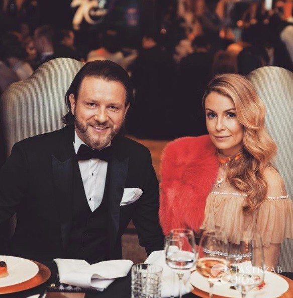 Małgorzata Rozenek i Radosław Majdan na balu