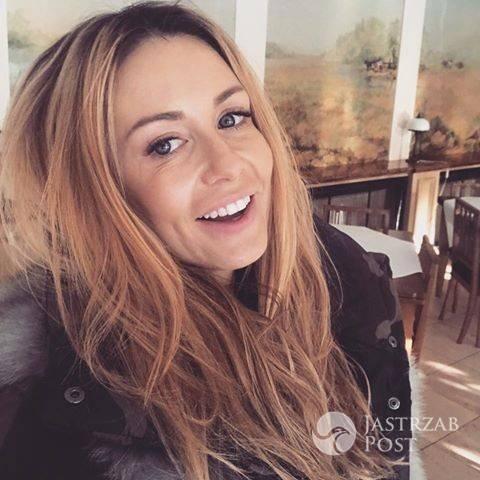 Małgorzata Rozenek-Majdan na planie Projekt Lady 2