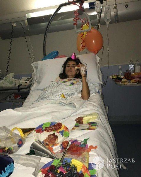 Natalia Siwiec nowy rok przywitała w szpitalu - fot. Instagram