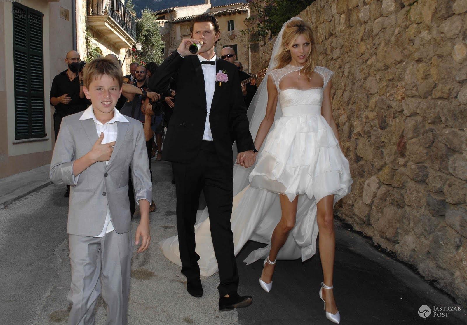 Anja Rubik i Sasha Knezević - zdjęcia ze ślubu