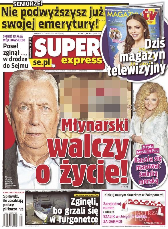 Zdjęcia Wojciecha Młynarskiego w Super Expressie