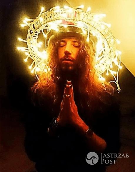 Michał Szpak przebrał się za Jezusa