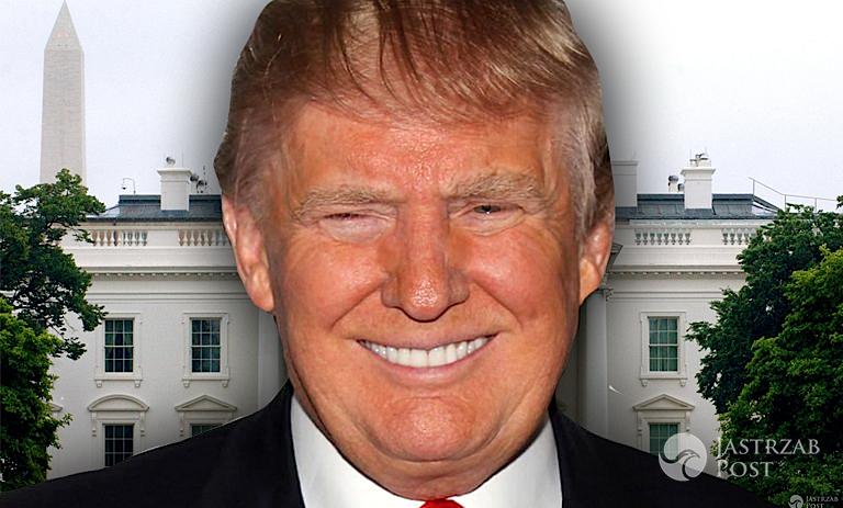 Donald Trump biały dom