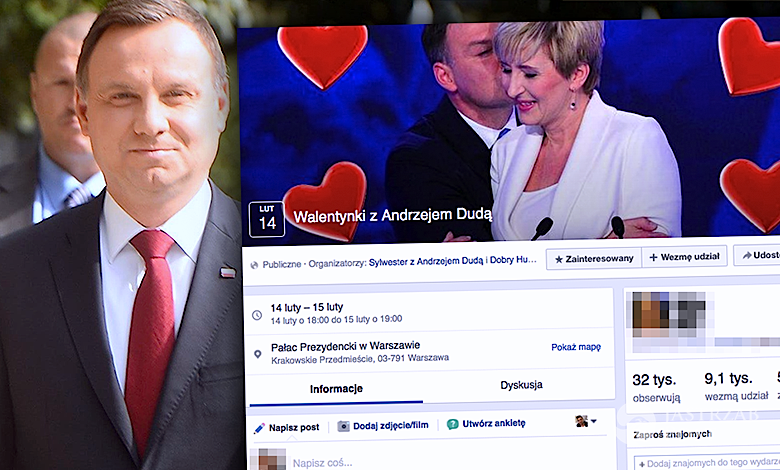 Walentynki z Andrzejem Dudą