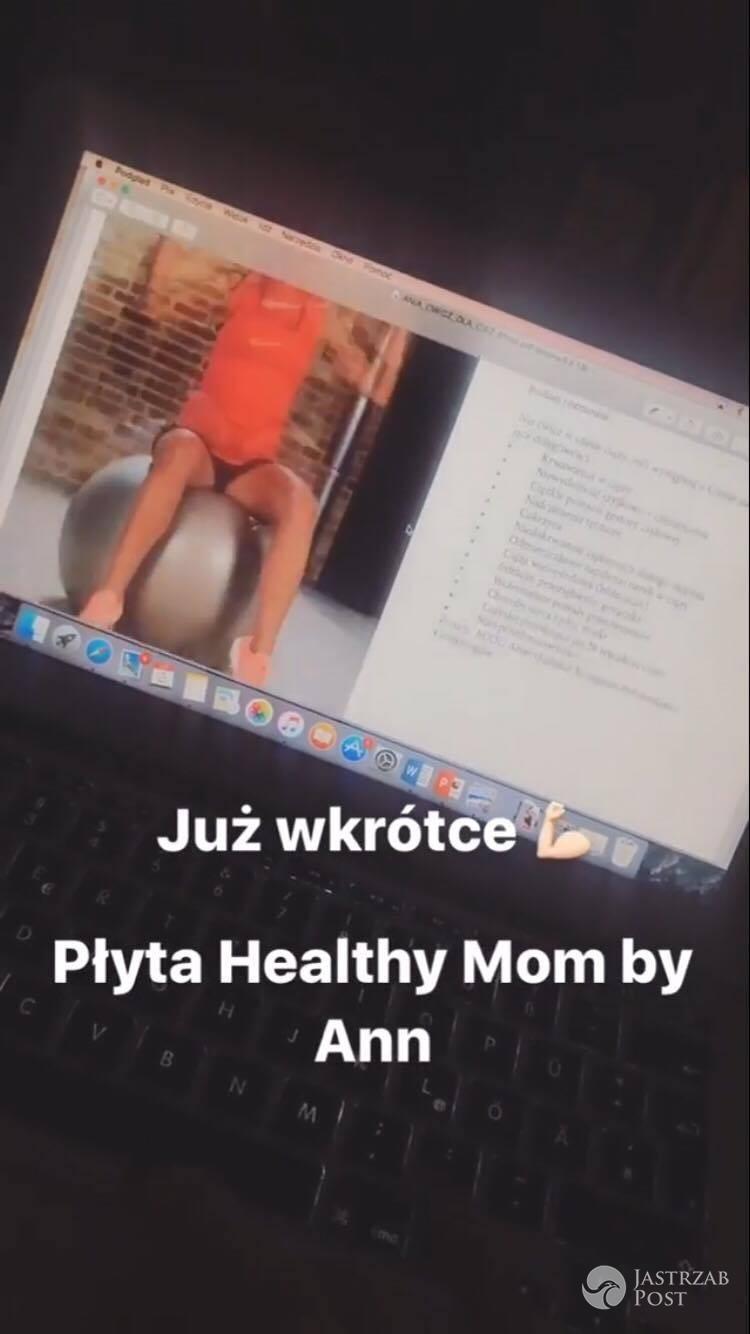 Anna Lewandowska pracuje nad DVD dla kobiet w ciąży. Zdjęcia 2017
