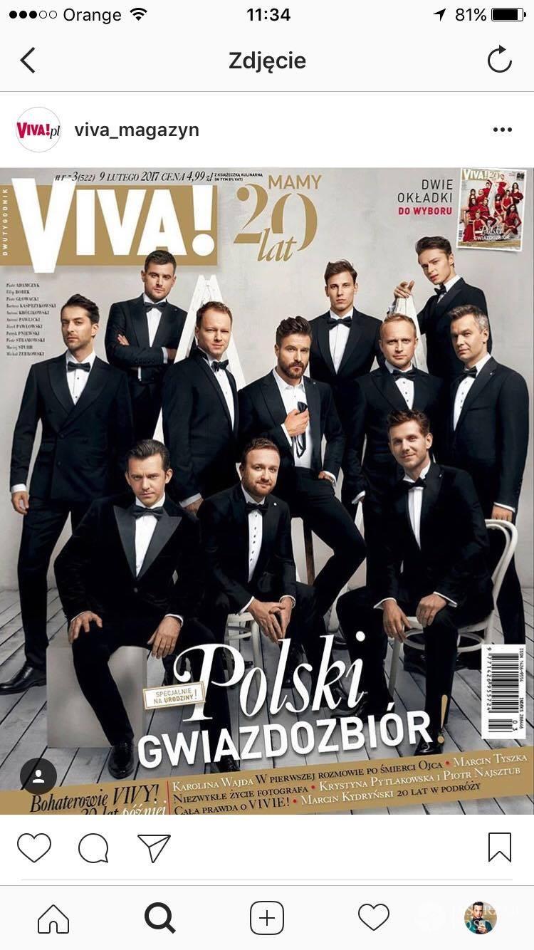 Okładki magazynu VIVA! z gwiazdami