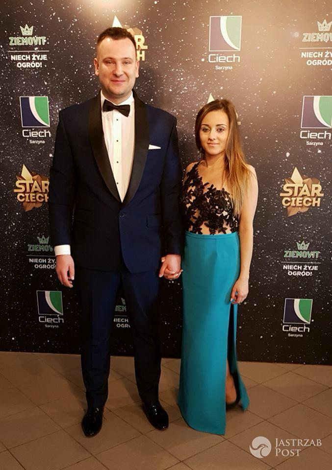 Grzegorz i Anna Bardowscy na wspólnym zdjęciu
