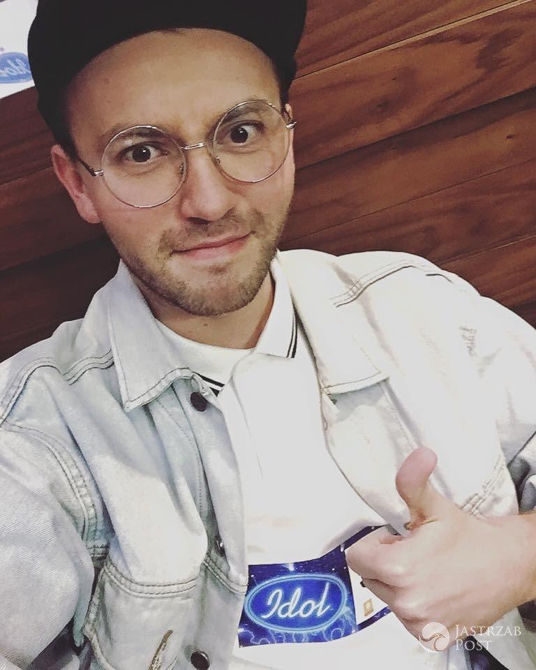 """Arek Kłusowski w """"Idolu"""""""