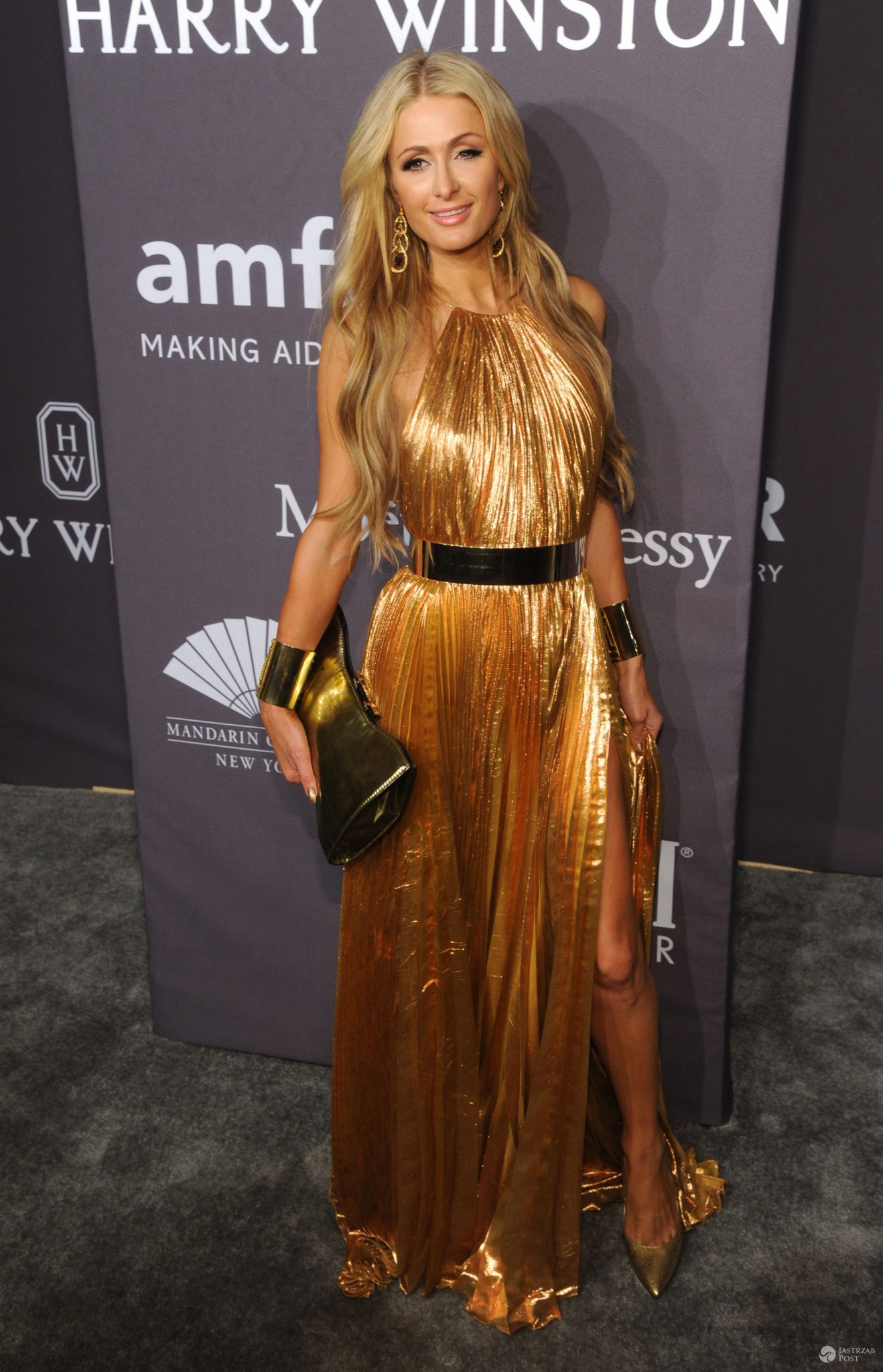 Paris Hilton - gala amfAR 2017 w Nowym Jorku