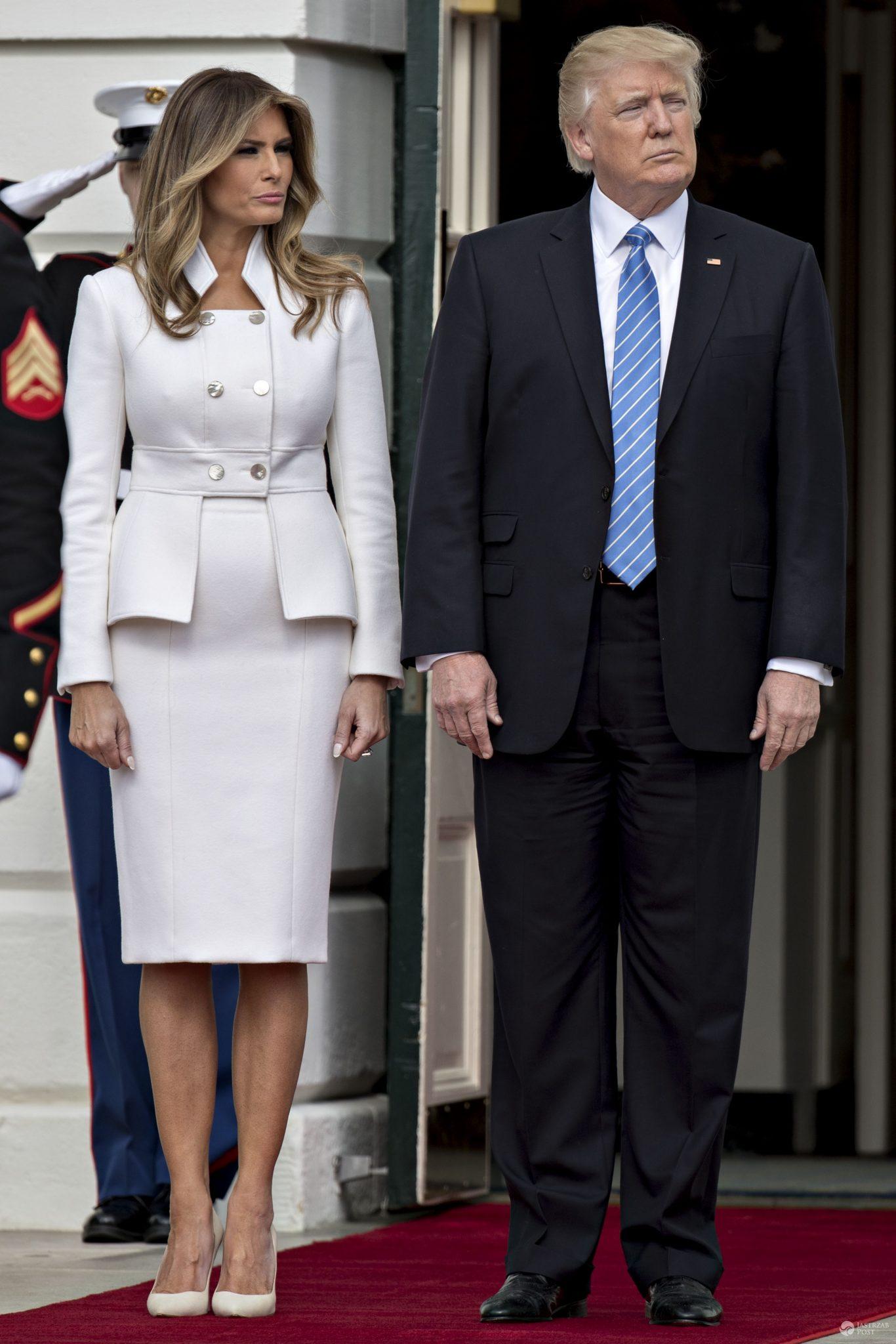 Melania Trump w Białym Domu