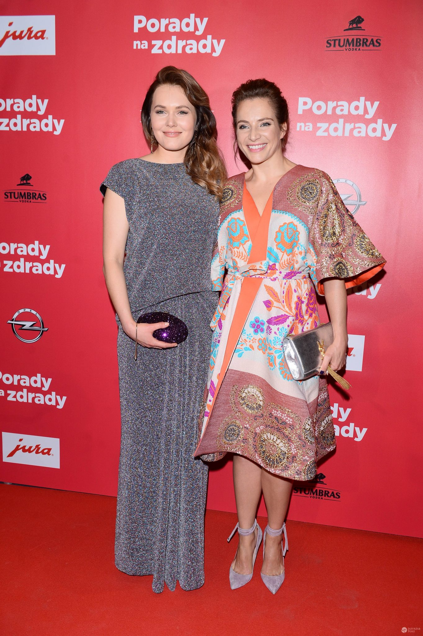 Magdalena Lamparska i Anna Dereszowska - premiera Porady na zdrady