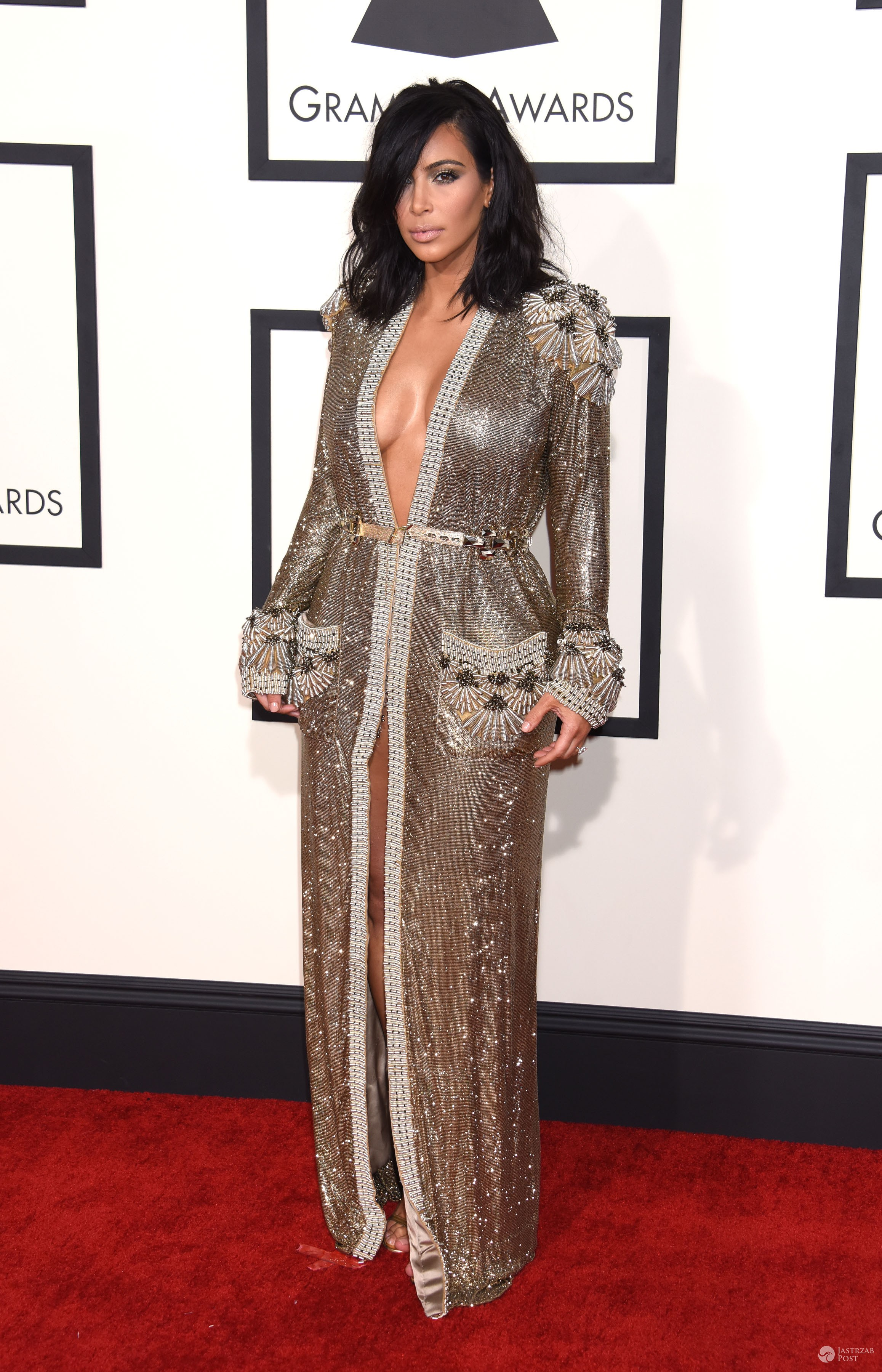 Kim Kardashian Jean Paul Gaultier Couture - Grammy 2015