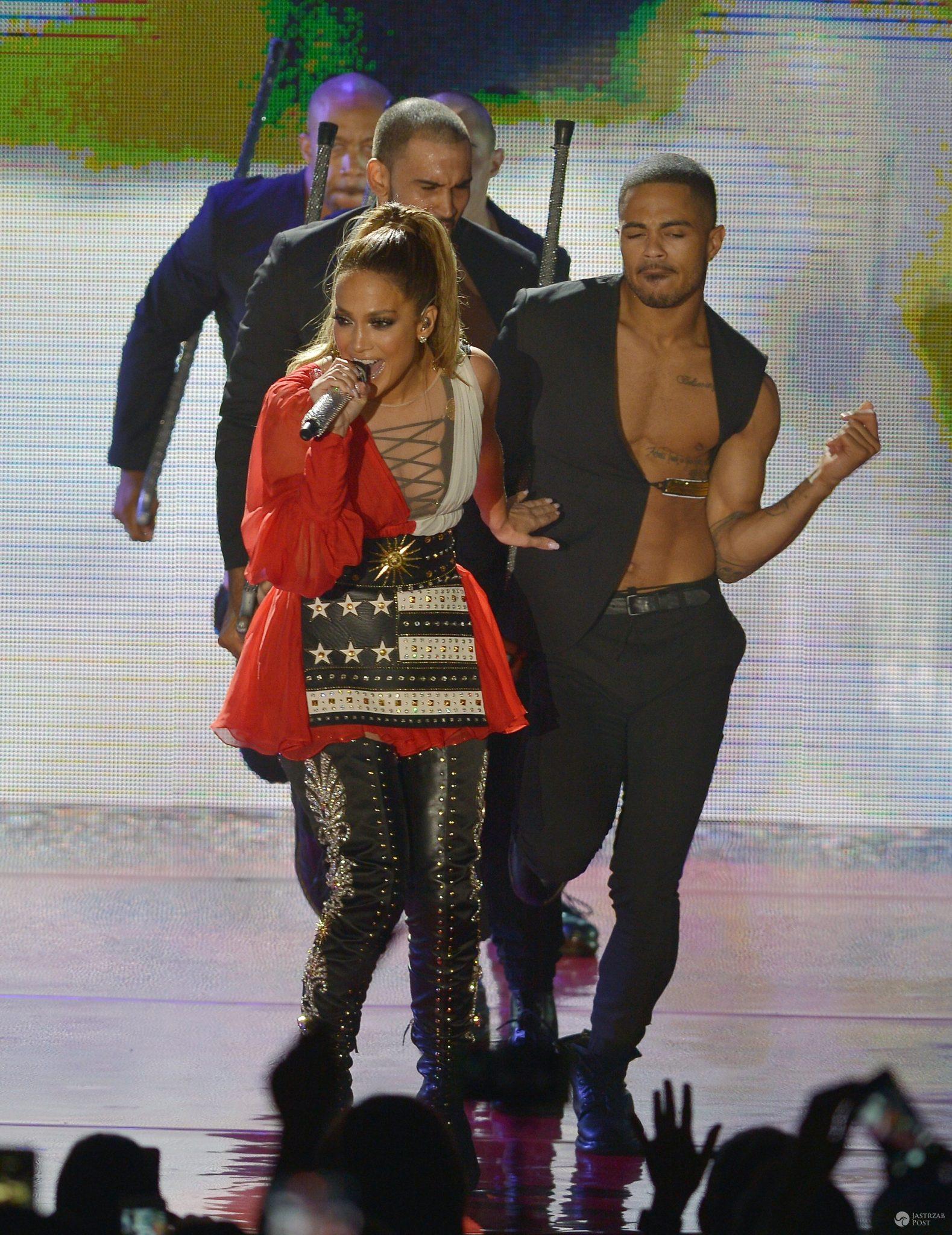 Jennifer Lopez na scenie