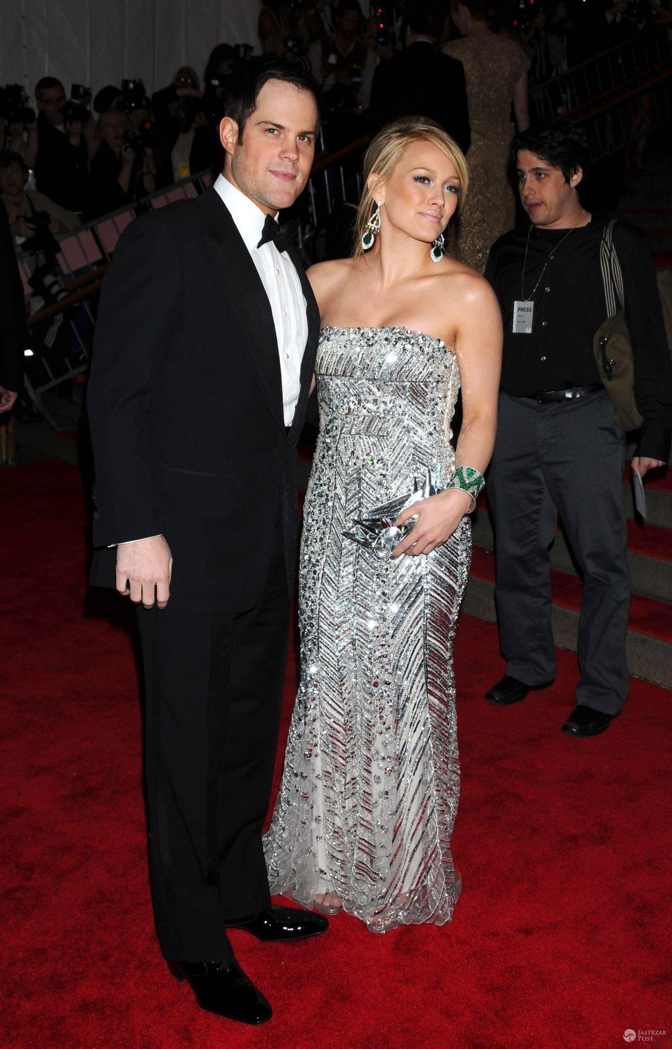 Hilary Duff z byłym mężem, Mike'iem Comrie
