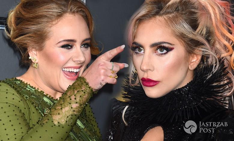 Lady Gaga i Adele na imprezie po Grammy 2017