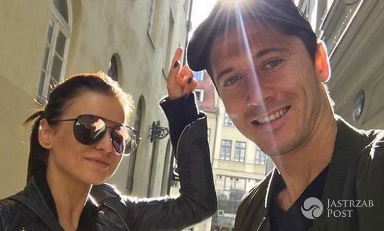 Anna i Robert Lewandowscy w Rzymie