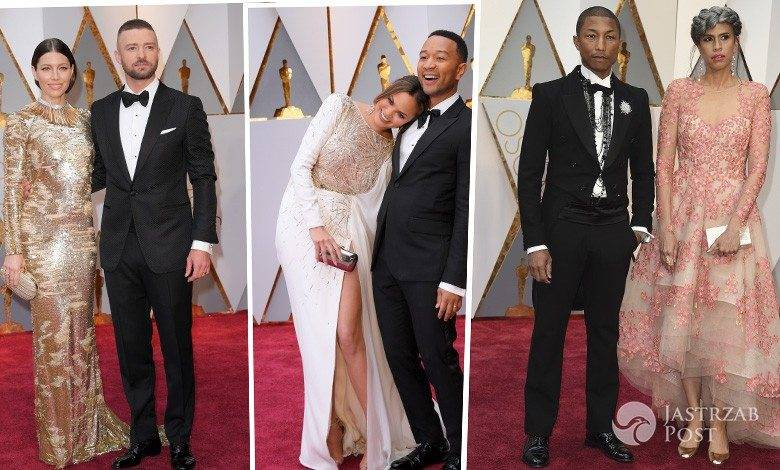 Oscary 2017: najpiękniejsze pary