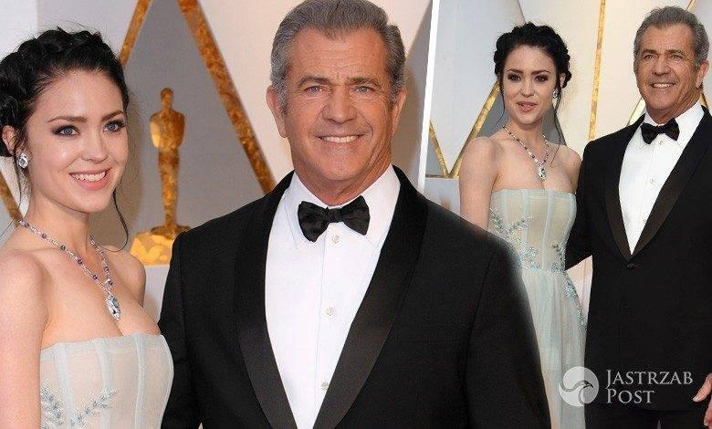 Mel Gibson i Rosalind Ross - Oscary 2017, stylizacje, zdjęcia, pierwszy raz po narodzinach dziecka