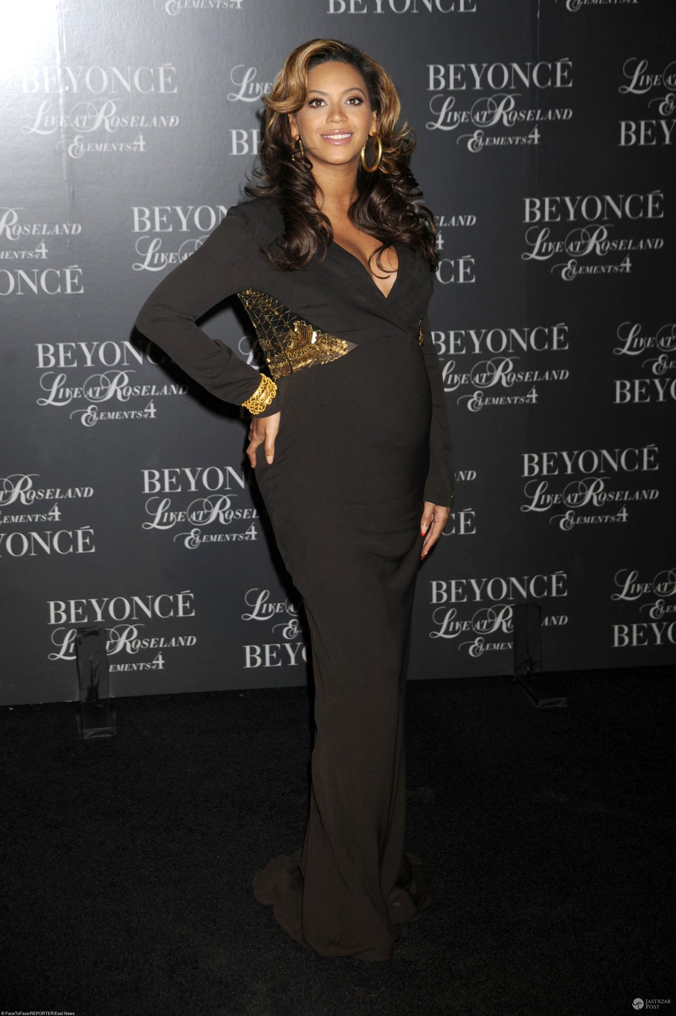 ciążowe stylizacje Beyonce z czasów pierwszej ciąży, 2011 r.