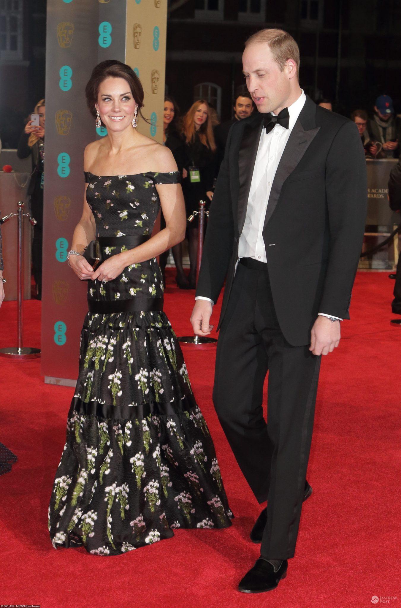 Księżna Kate i Książę William na gali nagród BAFTA