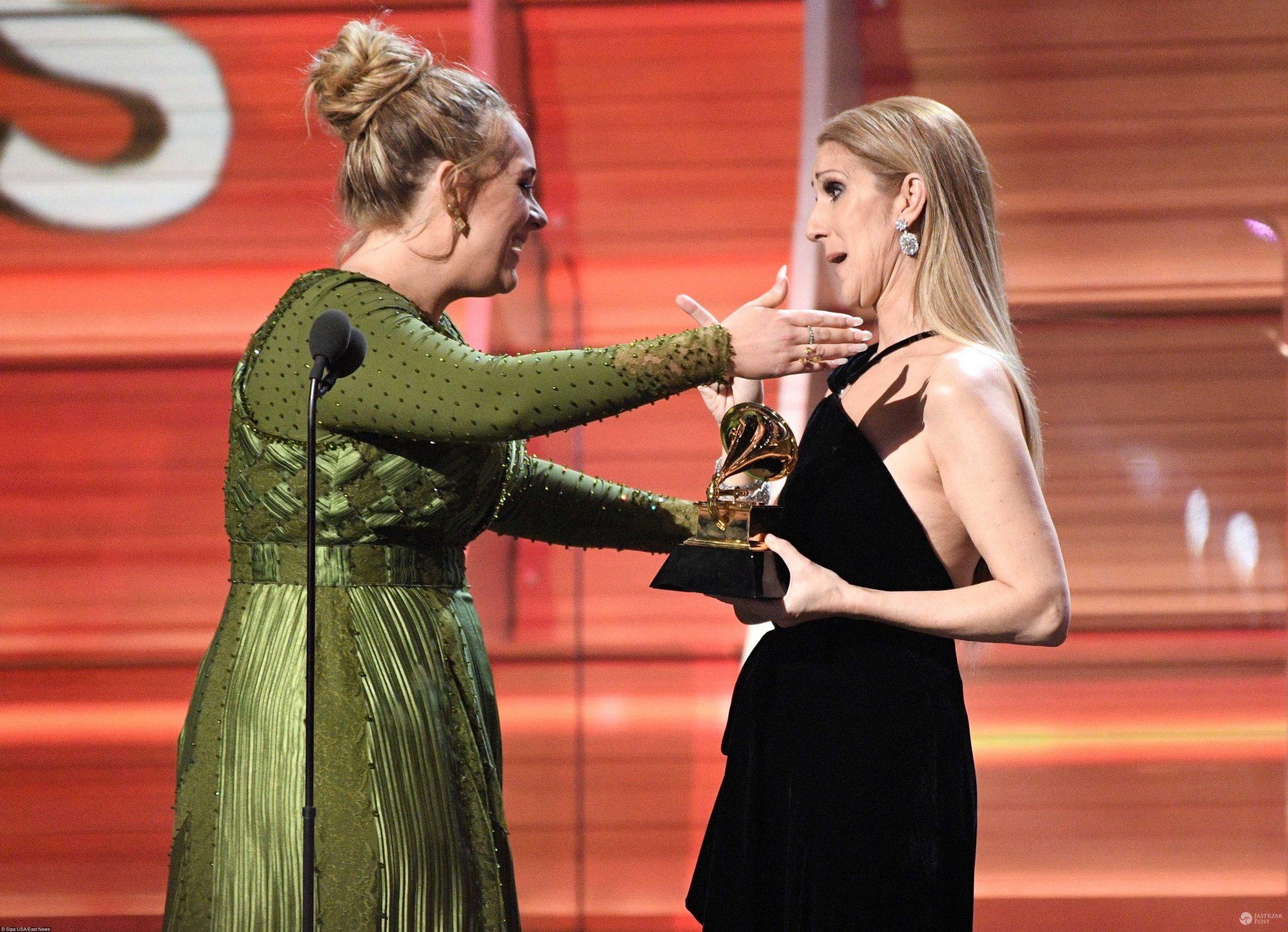 Celine Dion i Adele na Grammy 2017