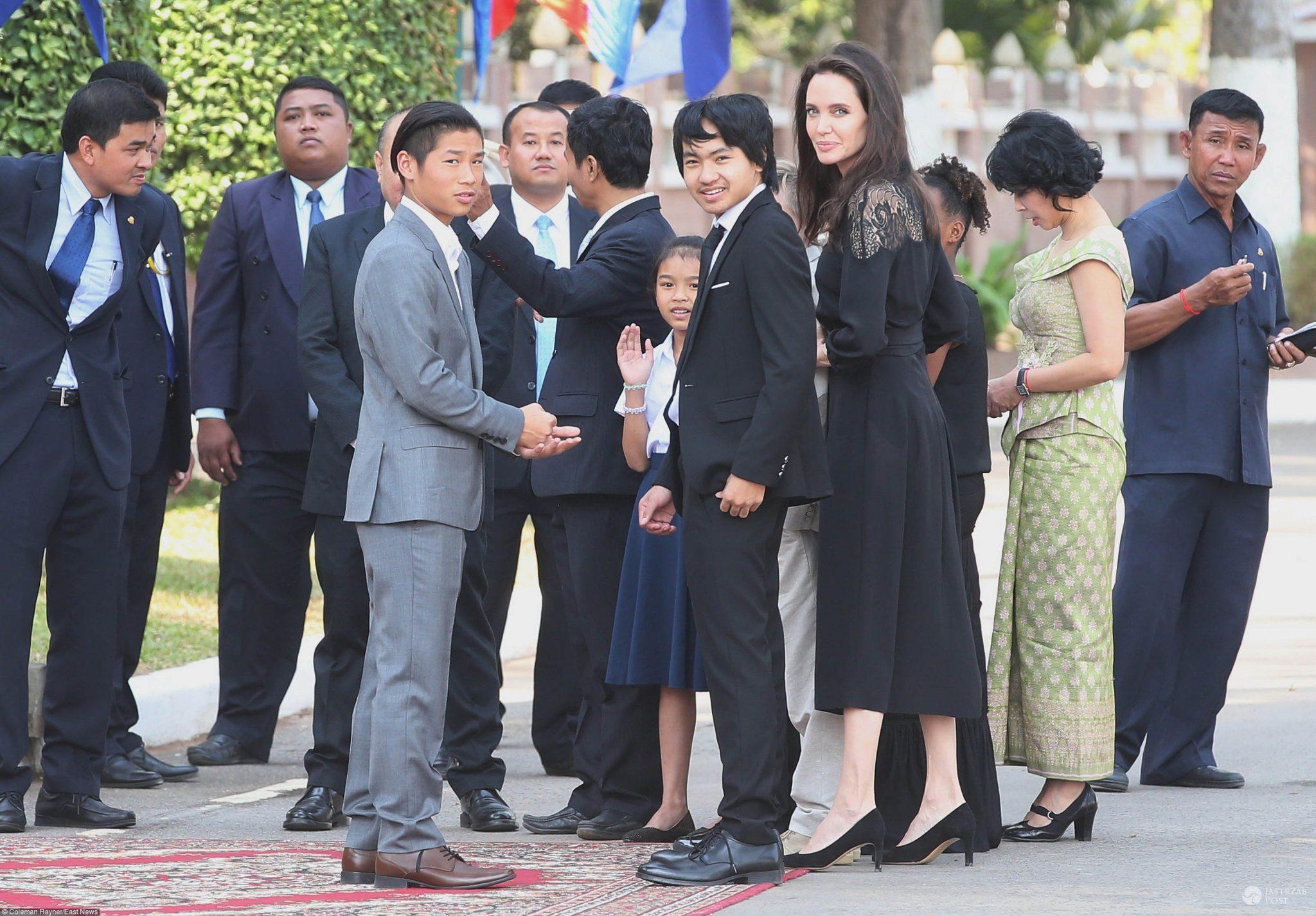 Angelina Jolie z dziećmi wyprowadzi się do Londynu?