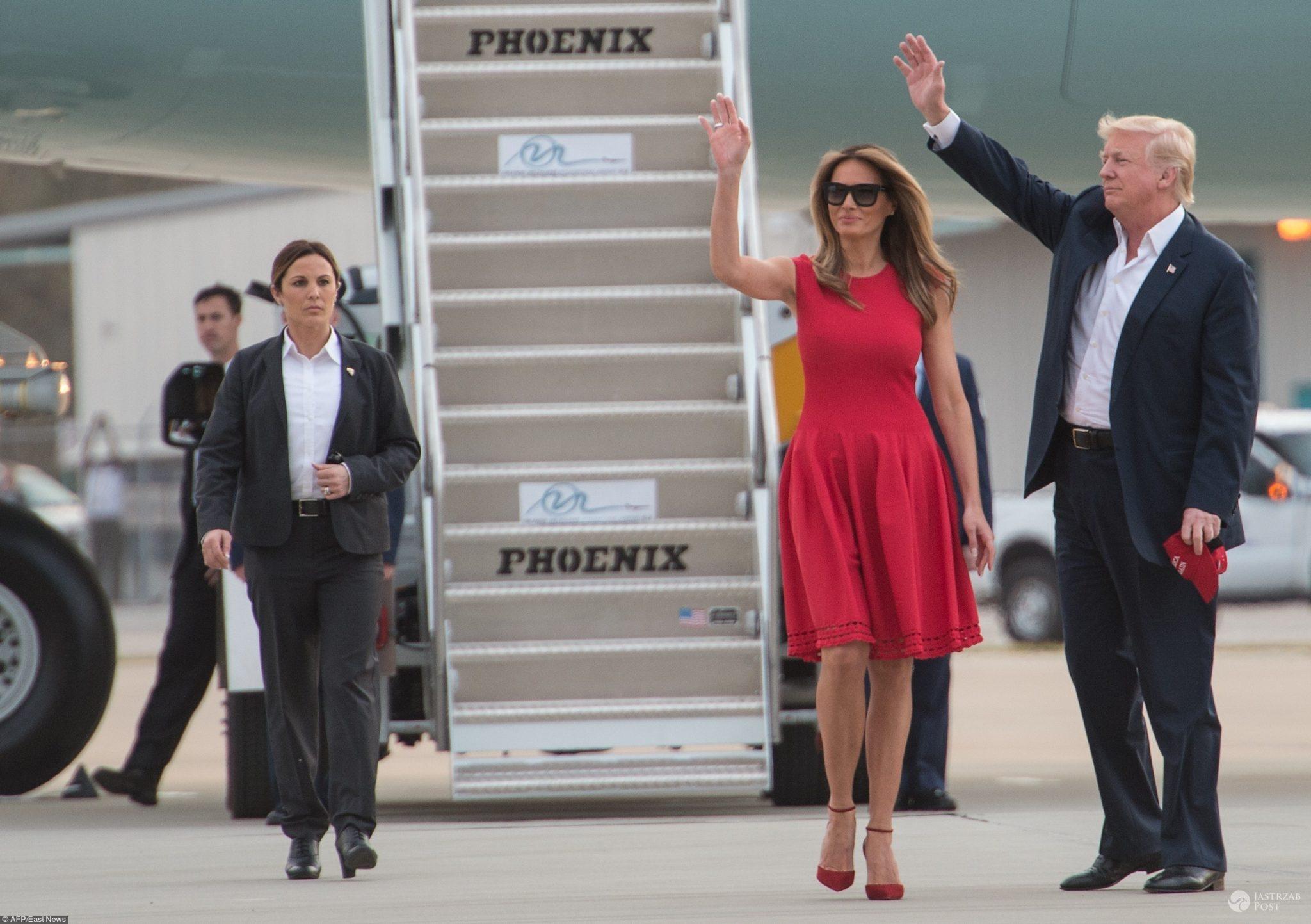 Melania Trump w obcisłej sukience