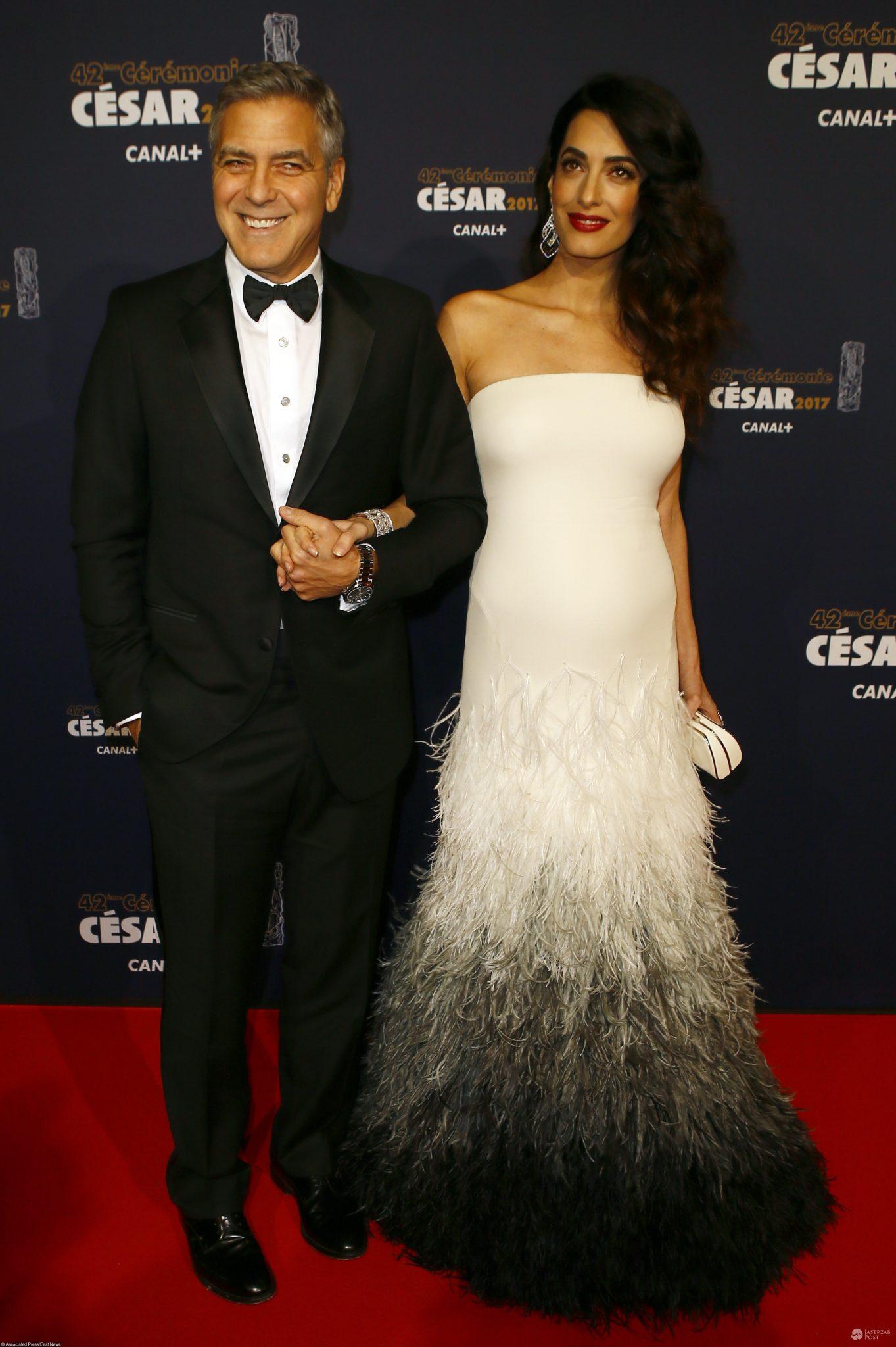 George Clooney i Amal Clooney na gali Cesar FIlm Awards 2017