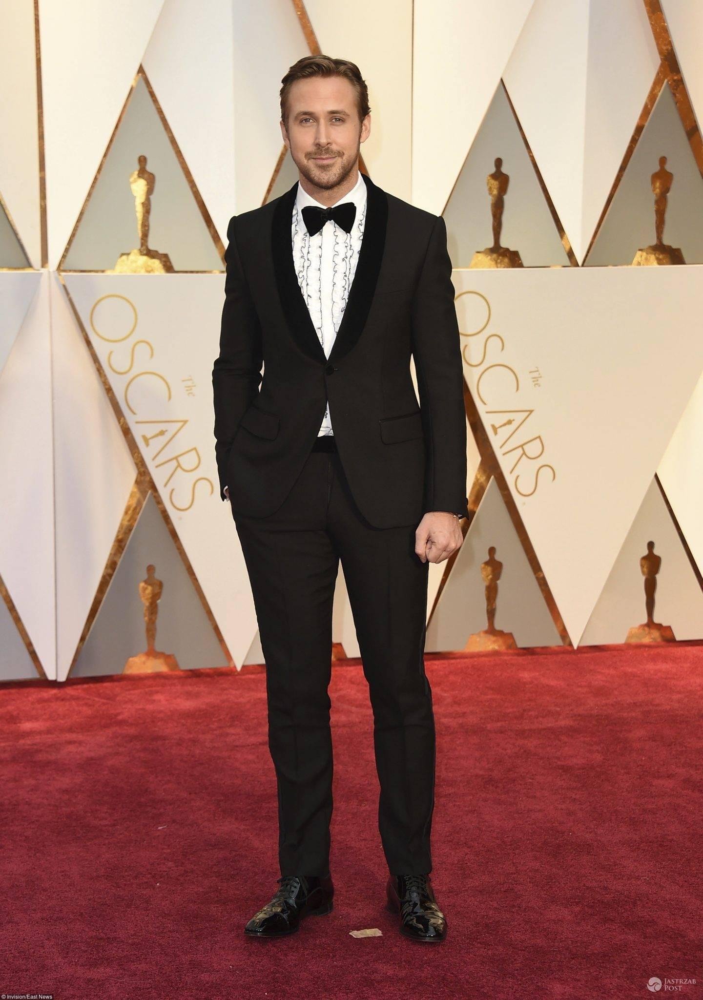 Ryan Gosling - Oscary 2017 (stylizacja: Gucci)