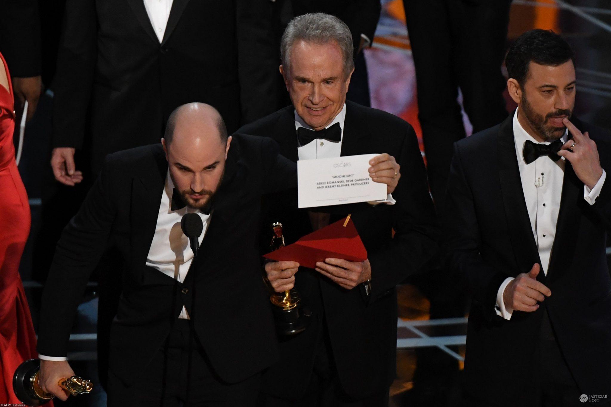Pomyłka przy wręczaniu nagrody Oscary 2017
