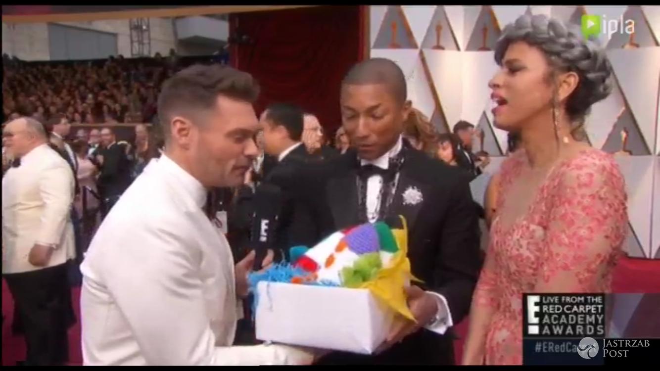 Oscary 2017 prezent dla Pharrella Williamsa