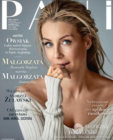 Małgorzata Rozenek-Majdan na okładce miesięcznika Pani