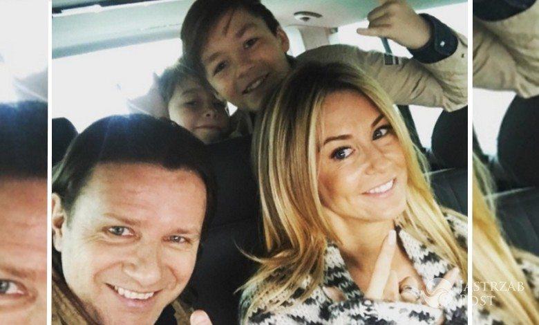 Małgorzata Rozenek wybrała się na urlop z rodziną