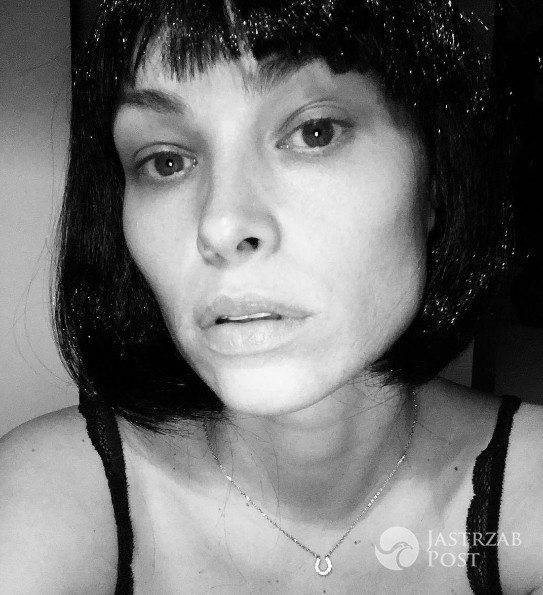 Weronika Książkiewicz w peruce