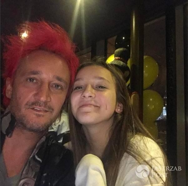 Michał Wiśniewski pokazał córkę na Instagramie