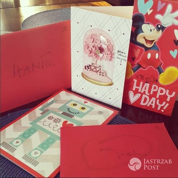 Anna Kalczyńska dostała prezent na Walentynki