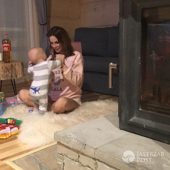 Maja Bohosiewicz poakzała zdjęcie z synem