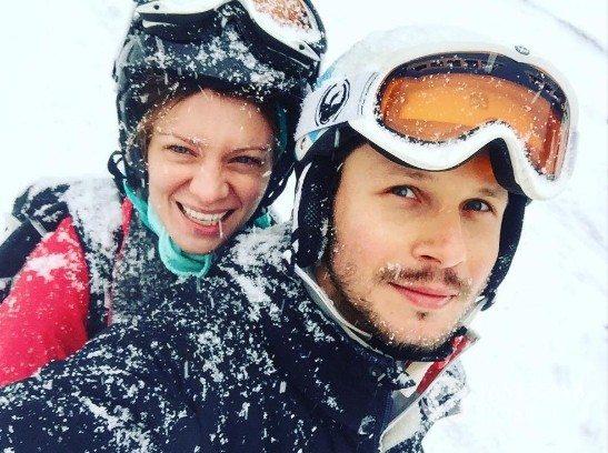 Magdalena Boczarska i Mateusz Banasiuk w górach