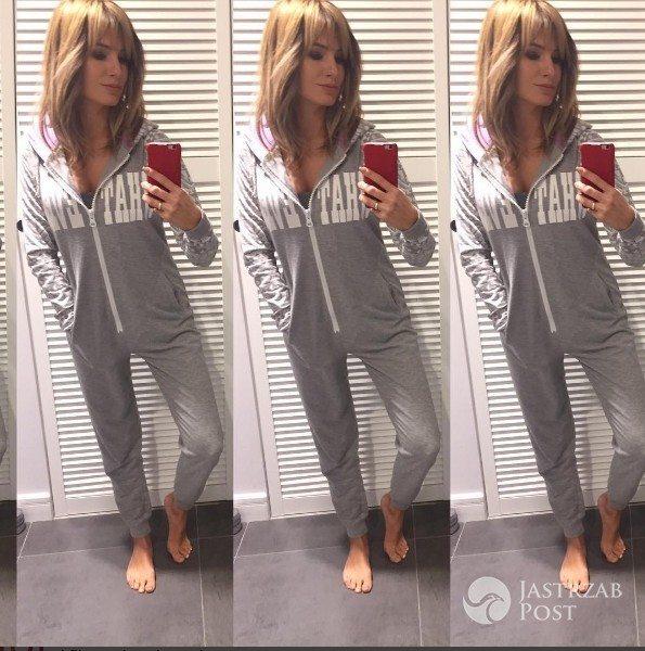 Agnieszka Hyży w piżamie