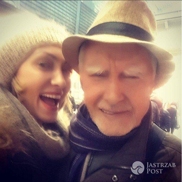 Anna Kalczyńska pokazała zdjęcie z tatą