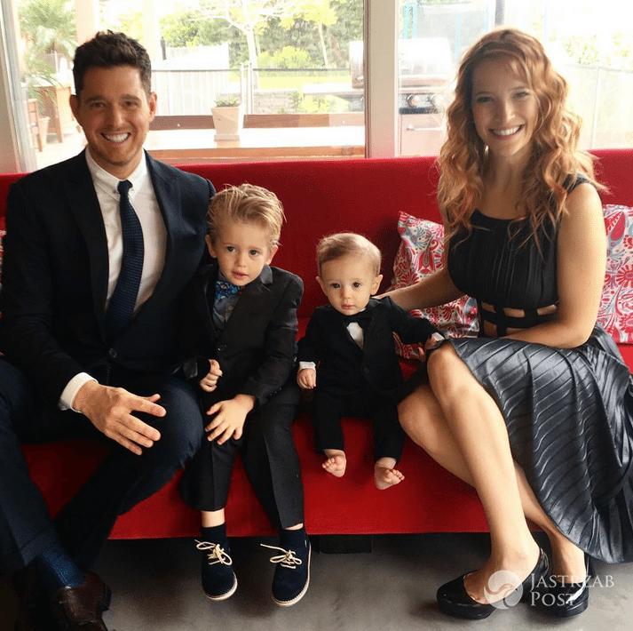 Syn Michaela Buble wygrał walkę z rakiem - Instagram
