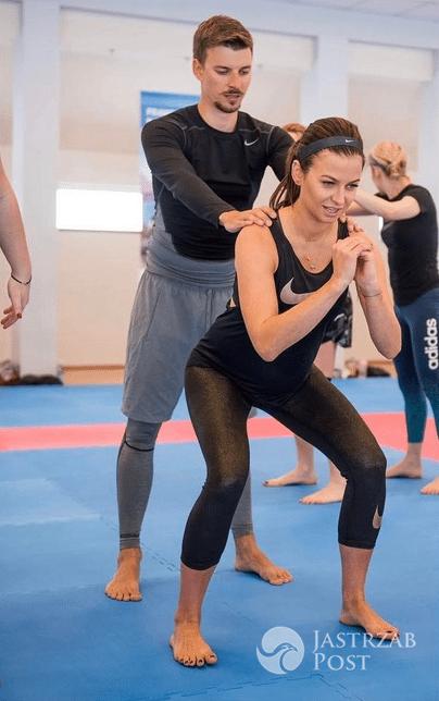 Anna Lewandowska ćwiczy razem z bratem Piotrem Stachurkim - Instagram