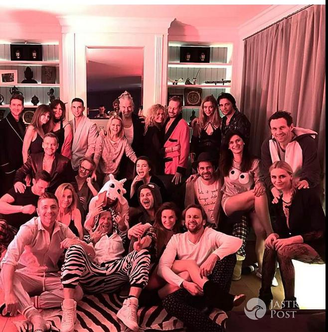Piżama Party u Dawida Wolińskiego - Instagram
